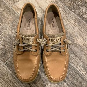Like New Sperry Topsider Boat Shoes bluefish
